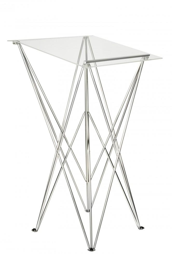 spider schreibpult 103 cm acrylplatte 57 x 57 cm. Black Bedroom Furniture Sets. Home Design Ideas