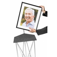 Picture frame for Spider Easel including passepartout in two different sizes