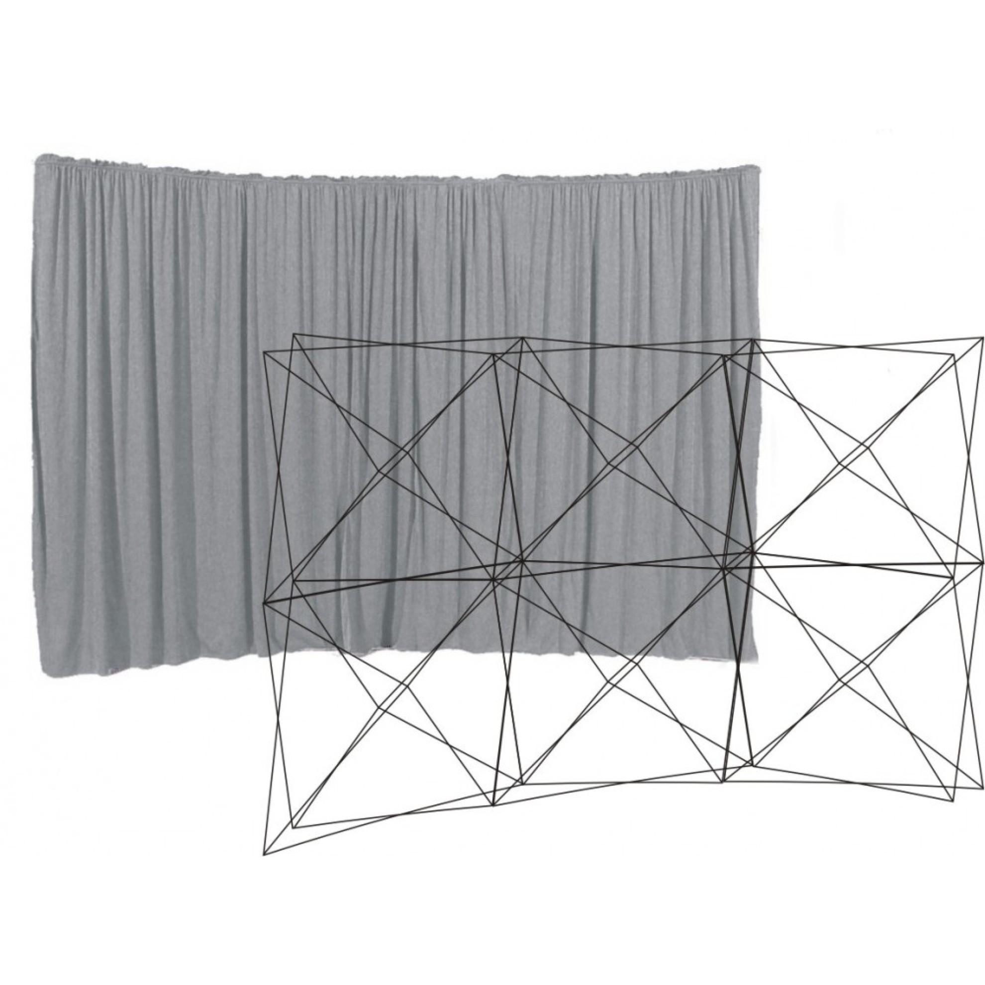 vorhang spider evoflex ohne durchgang 3 x 2 felder 300 x 220 cm bordeaux willkommen im spider. Black Bedroom Furniture Sets. Home Design Ideas